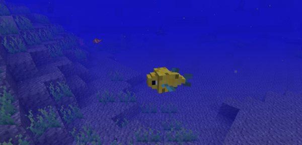 Just a Few Fish для Майнкрафт 1.11.2