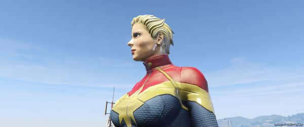 Captain Marvel (ANAD) для GTA 5
