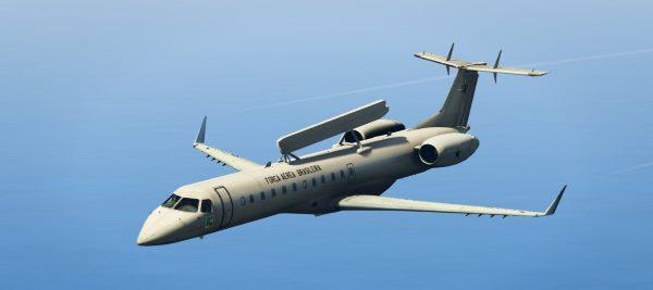 Embraer EMB-145 AEW&C [Replace] для GTA 5