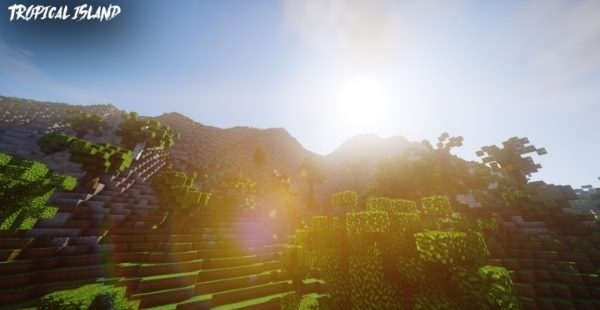 Tropical Island для Майнкрафт 1.11.2