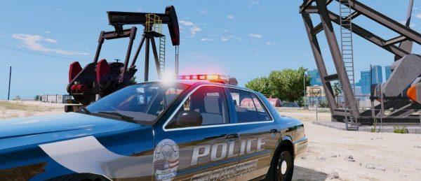 Los Santos City Police Pack [ELS] для GTA 5