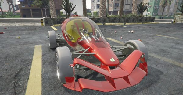 Dallara FX/17 [Add-On] для GTA 5