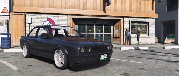 BMW E30 Drift [Replace Extra] 2.0 для GTA 5