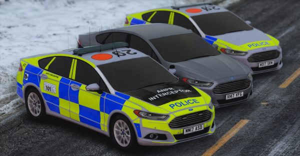 2016/2017 Police Ford Mondeo Saloon (ELS Enabled) для GTA 5