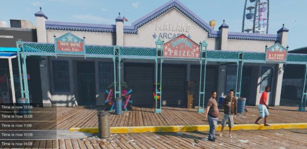 L.A. Real Santa Monica & Venice Beach для GTA 5