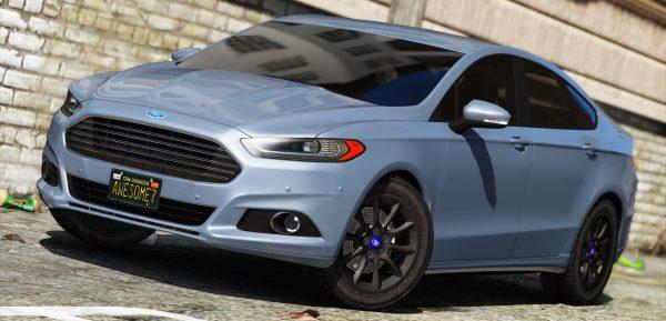 2016/2017 Ford Mondeo/Fusion Saloon для GTA 5