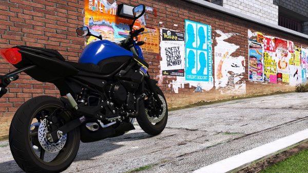 Yamaha XJ6 2018 для GTA 5