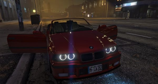 BMW E36 328i M-Sport Cabrio [Replace] 1.6 для GTA 5