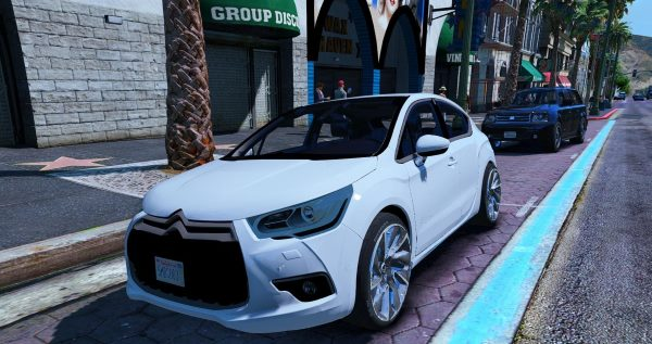 Citroën DS4 (3 Doors) [Add-On / Replace] для GTA 5