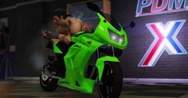 Kawasaki Ninja 250R 1.1 для GTA 5
