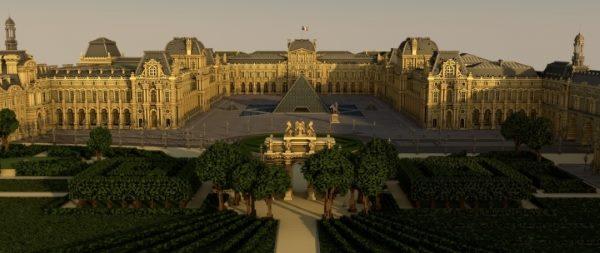 Musée Du Louvre для Майнкрафт 1.11.2