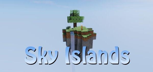 Sky Islands World Generator для Майнкрафт 1.10.2