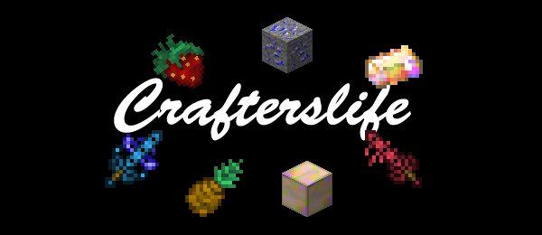 Crafterslife для Майнкрафт 1.10.2