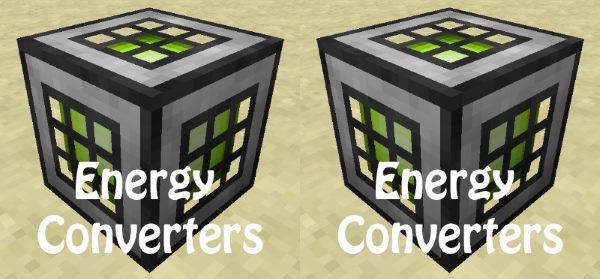 Energy Converters для Майнкрафт 1.11.2