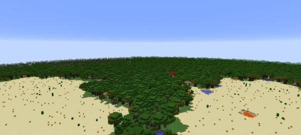 Flatlands для Майнкрафт 1.10.2
