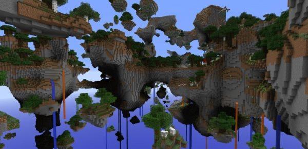 Skylands для Майнкрафт 1.10.2