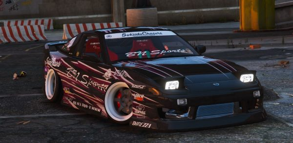 Nissan 240sx BN Sports III [Multi-Livery / Replace] 2.0 для GTA 5
