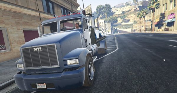 MTL Flatbed Tow Truck [Add-On | Wipers] 2.1 для GTA 5