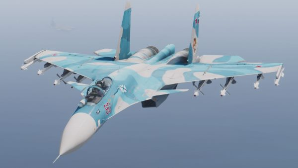 Su-33 Flanker-D /J-15 Fēishā [Custom weapons | Add-On] для GTA 5