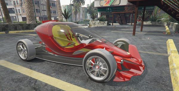 Dallara FX/17 [Add-On] 2.0 для GTA 5