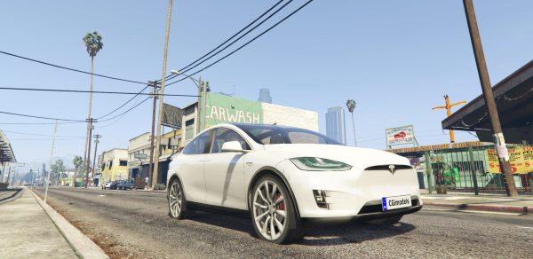 Tesla Model X [ALPHA] для GTA 5