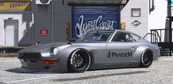 1969 Pandem Nissan S30 [Add-On | RHD | 4K Template] для GTA 5