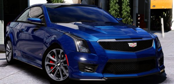 2016 Cadillac ATS-V Coupe [Add-On / Replace] для GTA 5