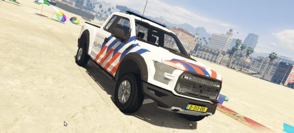 2017 Ford F-150 Raptor Dutch Police [Template | ELS] 2.0 для GTA 5