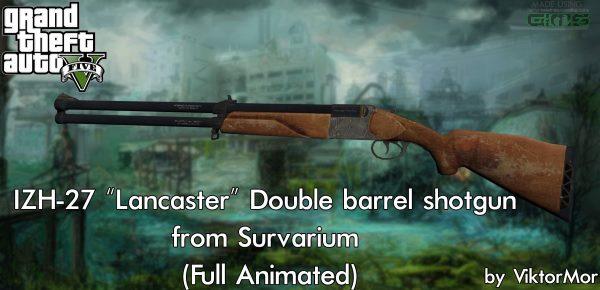 ИЖ-27 Двухствольное ружьё из Survarium для GTA 5