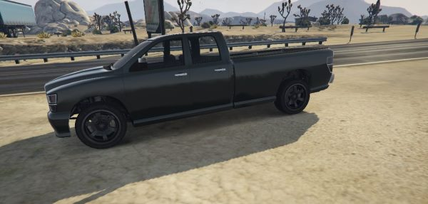 Bravado Bison Quad Cab Long Bed для GTA 5