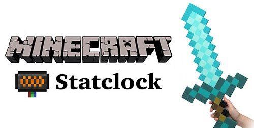 Statclock для Майнкрафт 1.10.2