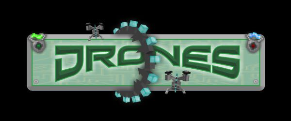 Drones для Майнкрафт 1.11.2