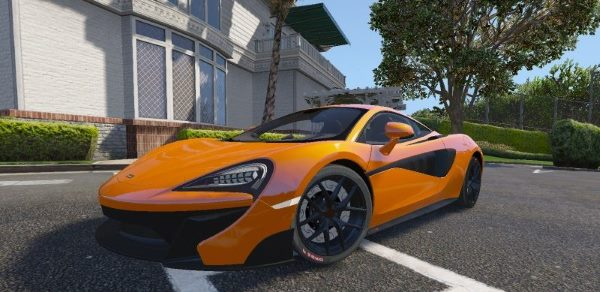 McLaren 570s Vorsteiner 2016/17 [Replace | Unlocked] [BETA] для GTA 5