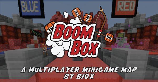 BoomBox для Майнкрафт 1.12