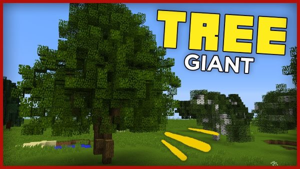 Giant Trees для Майнкрафт 1.11.2