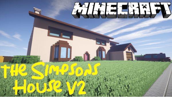 The Simpsons House для Майнкрафт 1.11.2