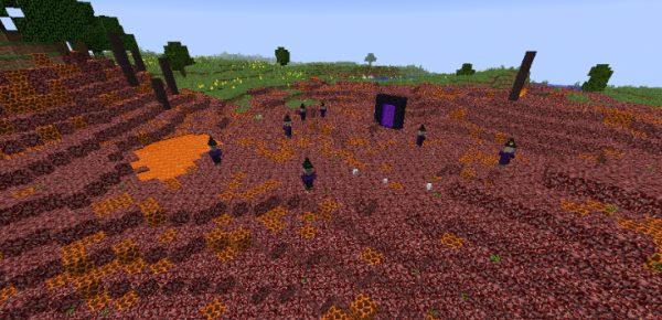 The Creeping Nether для Майнкрафт 1.11.2