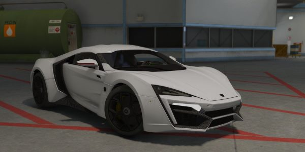 W-Motors Lykan Hypersport 1.1 для GTA 5