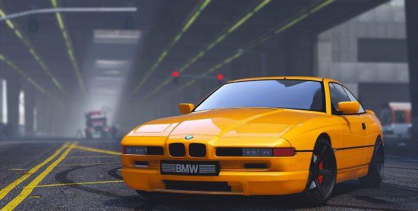 BMW 850 CSI 1.2 для GTA 5