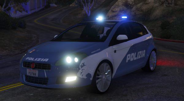 Fiat Bravo Polizia 2.0 для GTA 5