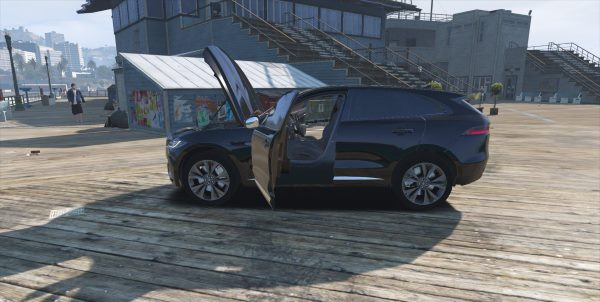 Jaguar F-Pace S 2017 [Add-On] для GTA 5