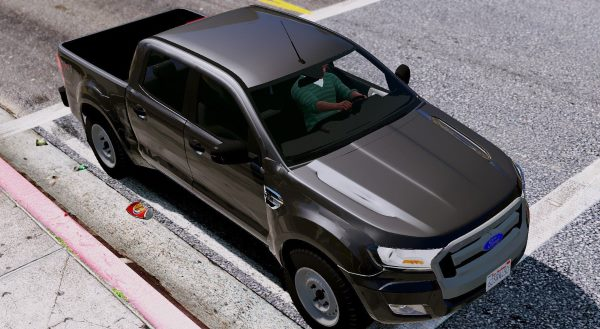 Ford Ranger 2017 для GTA 5