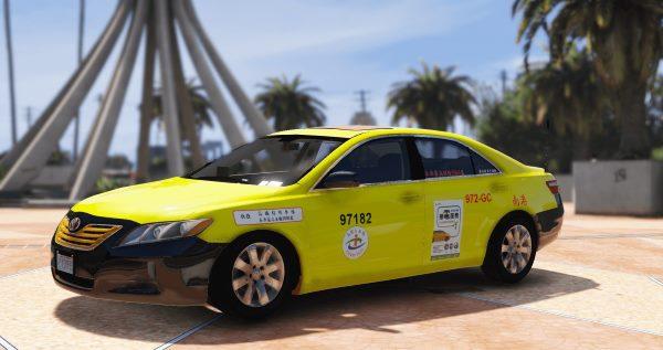 Toyota Camry Taiwan Taxi [Replace | Template] 1.1 для GTA 5