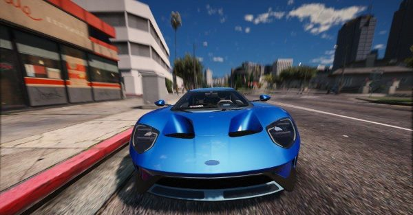Ford GT 2017 [Add-On] для GTA 5