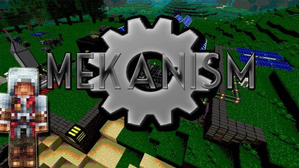 Mekanism для Майнкрафт 1.11.2