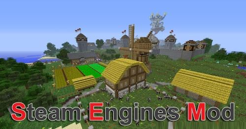Steam Engines для Майнкрафт 1.11.2