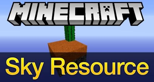 Sky Resources для Майнкрафт 1.10.2