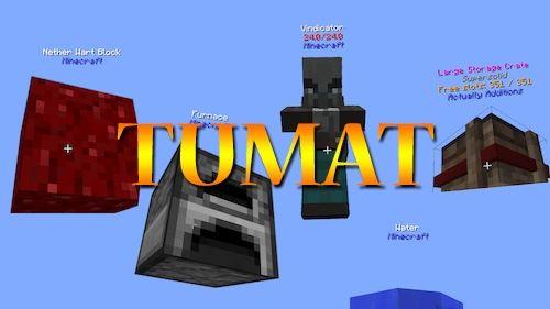 TUMAT для Майнкрафт 1.11.2