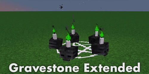 Gravestone - Extended для Майнкрафт 1.10.2