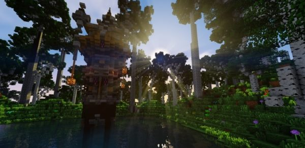 Birch Island для Майнкрафт 1.11.2